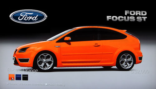 ford focus st 2006 gran turismo 5 prologue. Black Bedroom Furniture Sets. Home Design Ideas