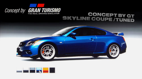 Concept by Gran Turismo Nissan Skyline Coupe /Tuned de -- - GT5 Prologue